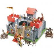 """Le Toy Van Ritterburg """"Camelot"""" aus Holz"""