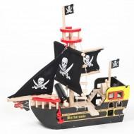 Le Toy Van Piratenschiff aus Holz