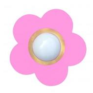 Waldi Deckenleuchte Blume in rosa