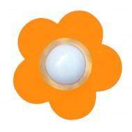 Waldi Deckenleuchte Blume in orange