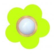 Waldi Deckenleuchte Blume in apfelgrün