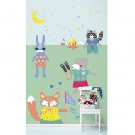 "Eijffinger Rice ""Everyday Magic"" Tapetenwandbild Cute Boys enjoying the holidays"