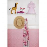 "Eijffinger Rice ""Everyday Magic""Struktur Blumen rosa"