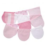 Wimpelkette rosa-weiß in 150cm oder 300cm von Annette Frank
