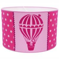 Juul Design Lampenschirm Heißluftballon pink Ø 35cm