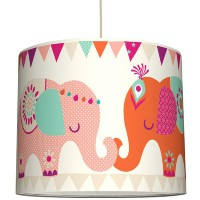 Anna Wand Lampenschirm Elefanten Girls ø 40
