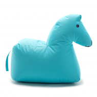 HAPPY ZOO Sitzsack Pferd LOTTE in blau